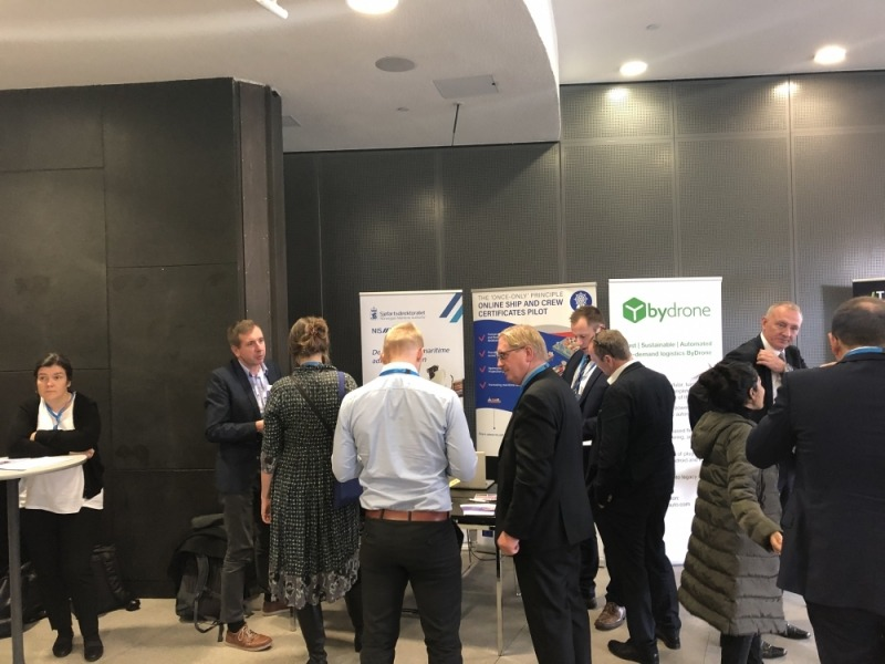 TOOP booth at the Digital Transport Days Conference